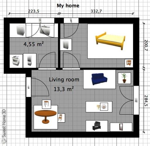 sweet-home-3d-plan