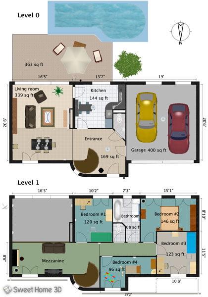 sweet-home-3d-plan2d