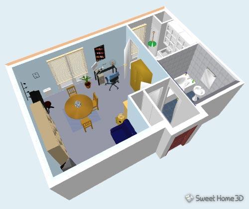 sweet-home-3d-vue3d