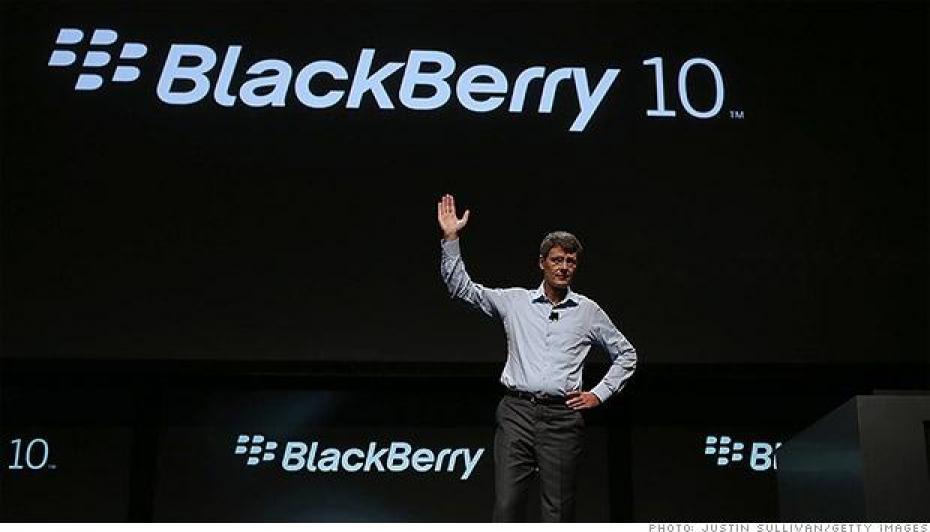 Au revoir BlackBerry
