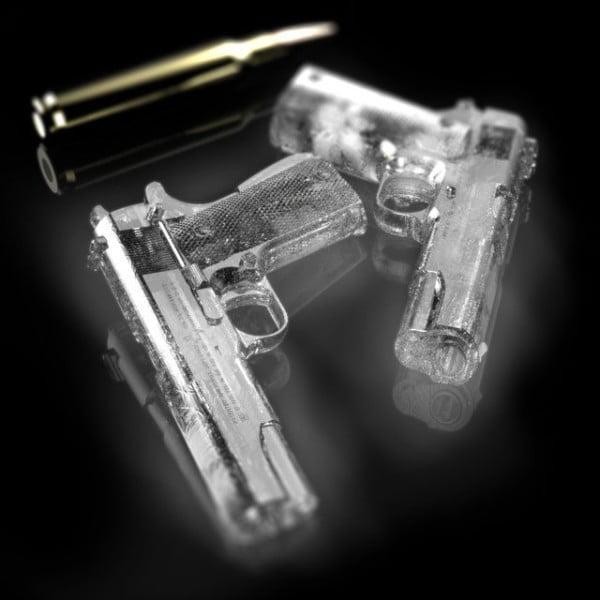 glaçon pistolet