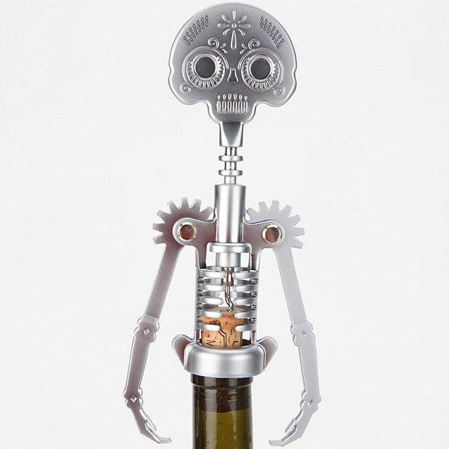 tire bouchon robot