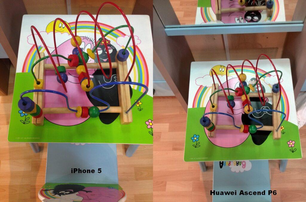 iPhone 5 / Ascend P6