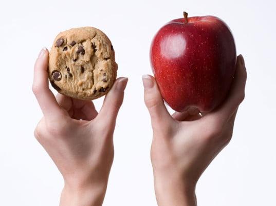 pomme vs cookie