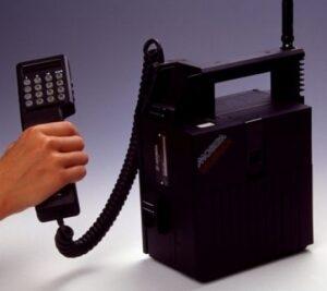 Le Mobira Talkman de Nokia - 1984