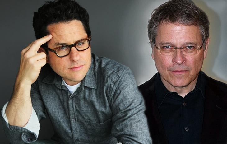 J.J. Abrams (gauche) et Lawrence Kasdan (droite)