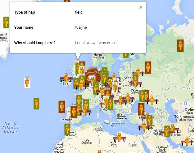 google-naps-map