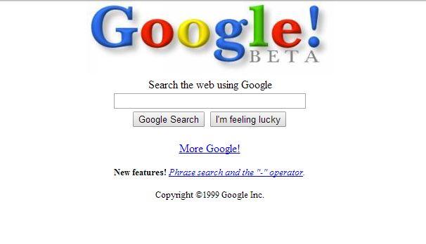google-fevrier-1999