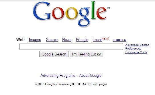 google-fevrier-2005