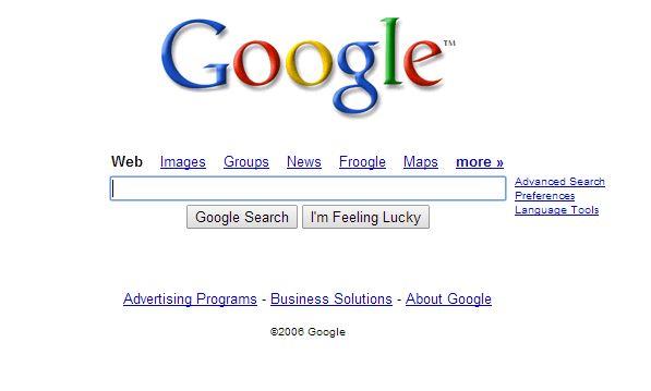 Juillet 2006 : peu de changements au niveau du moteur de recherche mais Google entre dans le top 10 des marques les plus connues au monde.