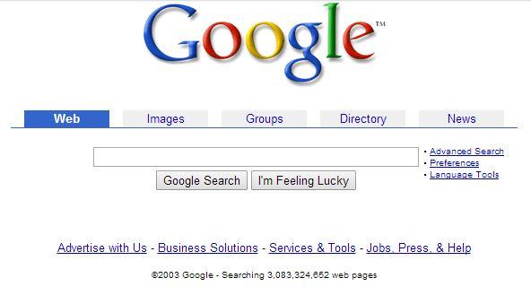 google-juin-2003