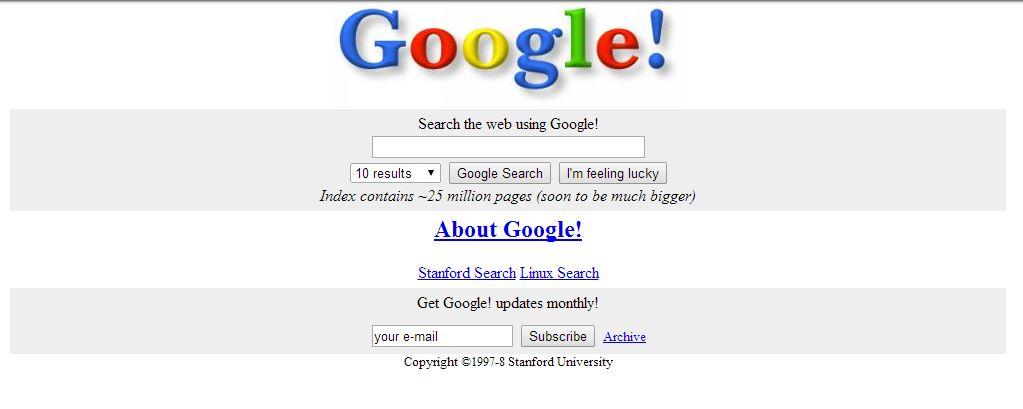 google-novembre-1998