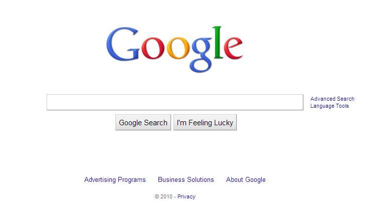 Octobre 2010 : Google représente 6,4 % du trafic Internet mondial et affiche une croissance supérieure à celle du web. Google est décliné dans 150 langues.