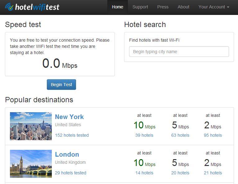 hotel-wifi-test