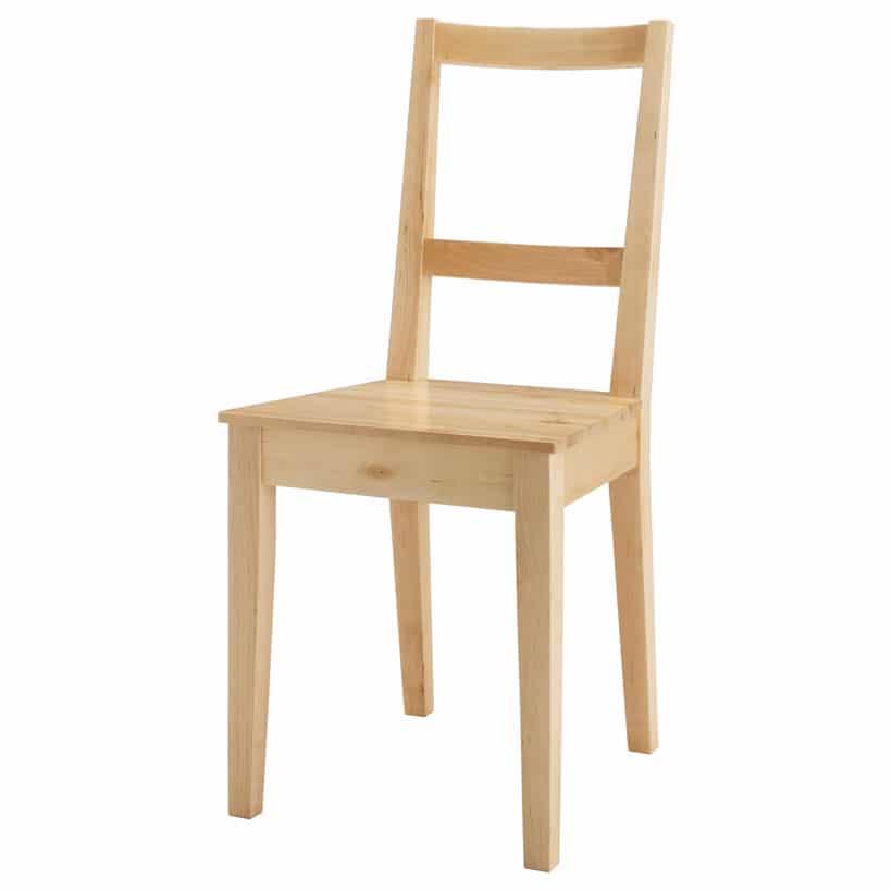 La chaise Bertil est le premier meuble avoir été reproduit par ordinateur dans le catalogue automne 2006 d'Ikea