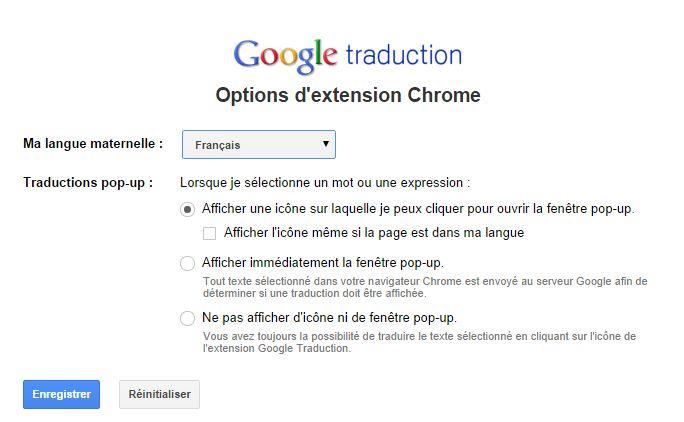 google-traduction-extension-parametres