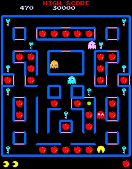 Super Pac Man, Namco, 1982