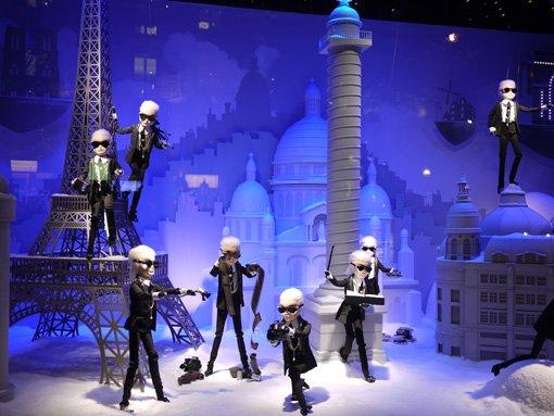 Les Karl Lagerfeld dansants de 2011