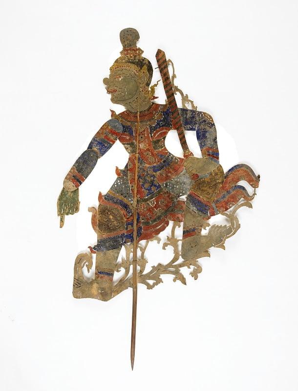 Marionnette d'un démon (Sbek Poa), 19e Siècle, Cambodge