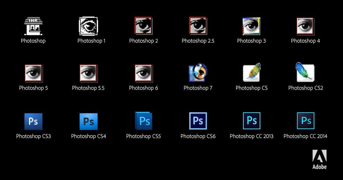 photoshop-25ans-logos