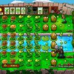plantes-contre-zombies-pelouse