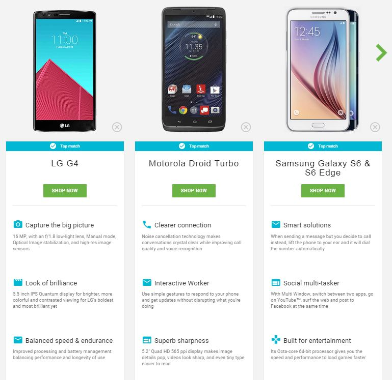 selection-smartphones-android