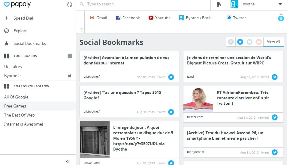 papaly-social-bookmarks