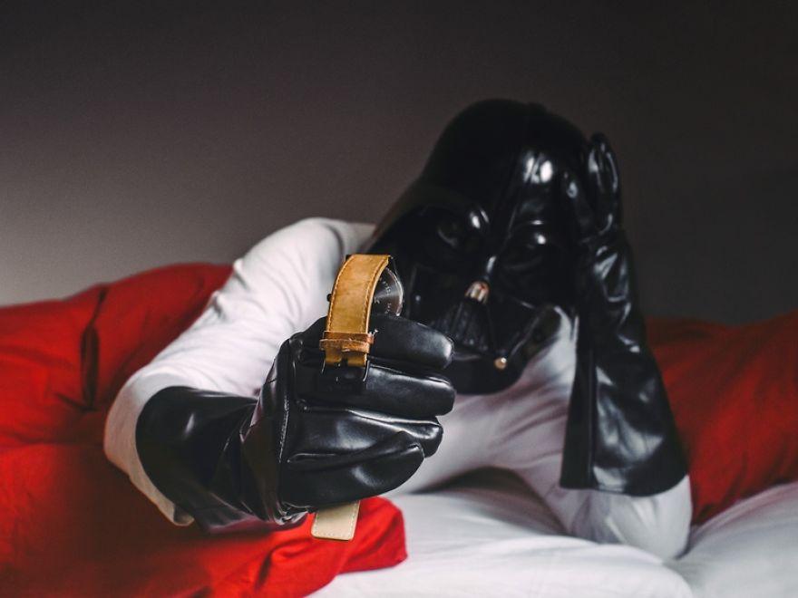 Dark Vador se réveille