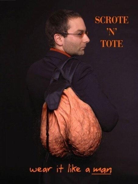Scrote'n'Tote: The Satchel of Life