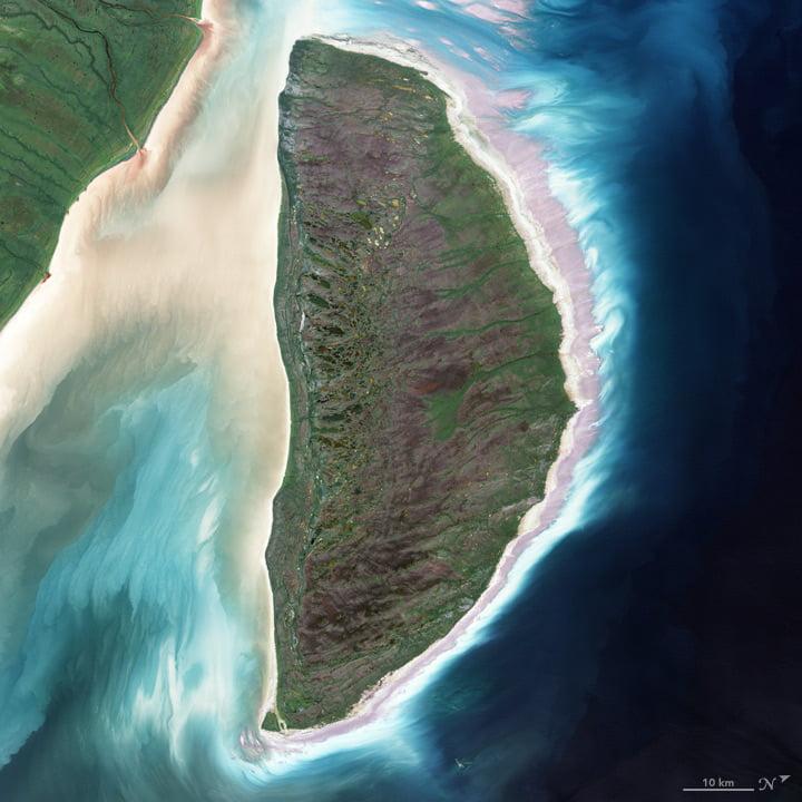 L'île Akimiski (Canada)