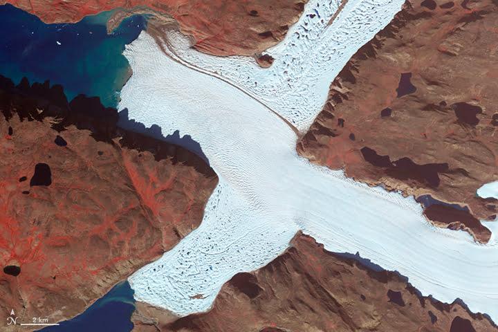 Glacier de Leidy (Groenland)
