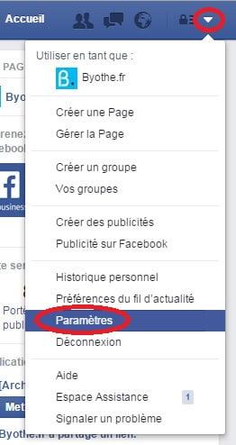 facebook-parametres