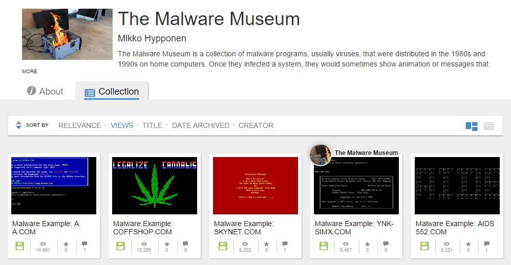malware-museum
