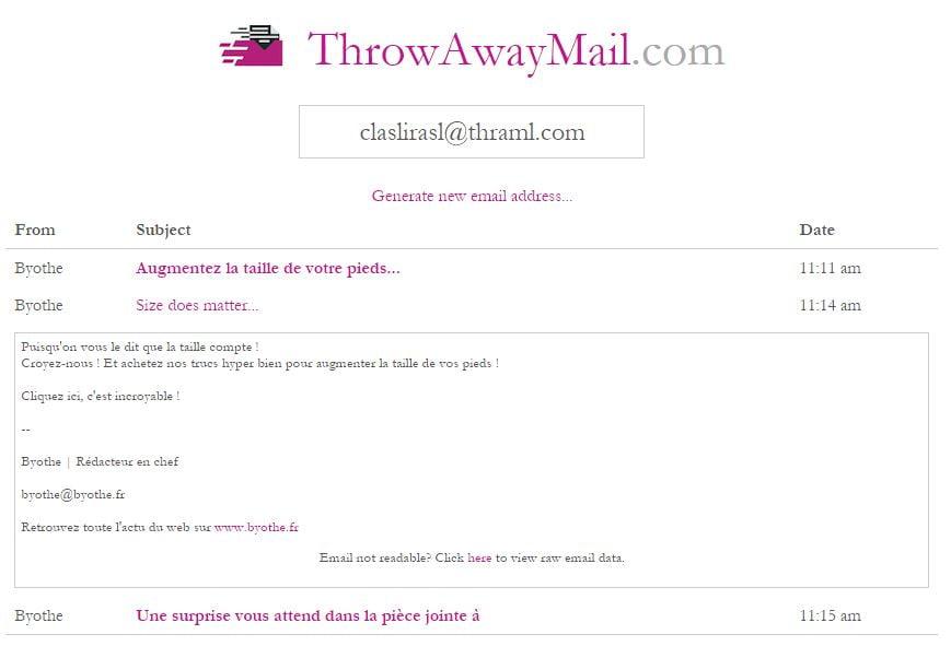 throwawaymail-inbox