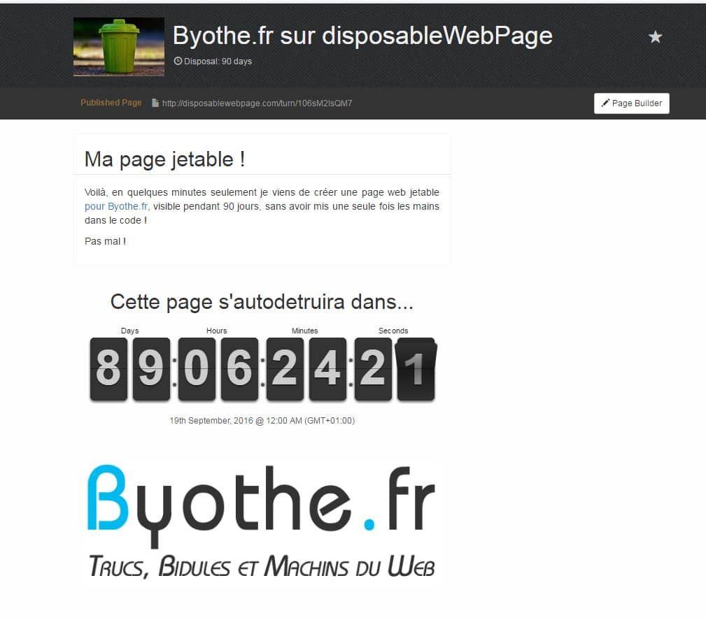 disposablewebpage