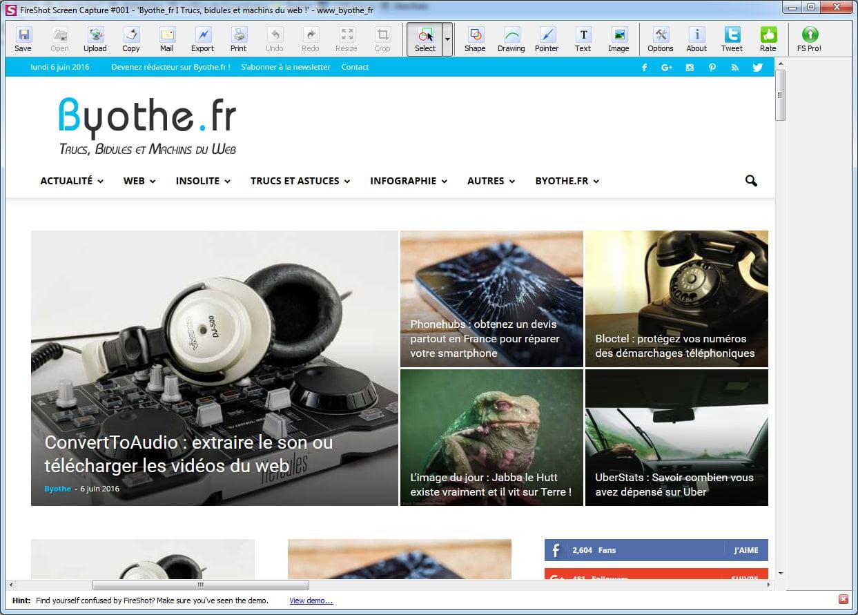 fireshot-editeur