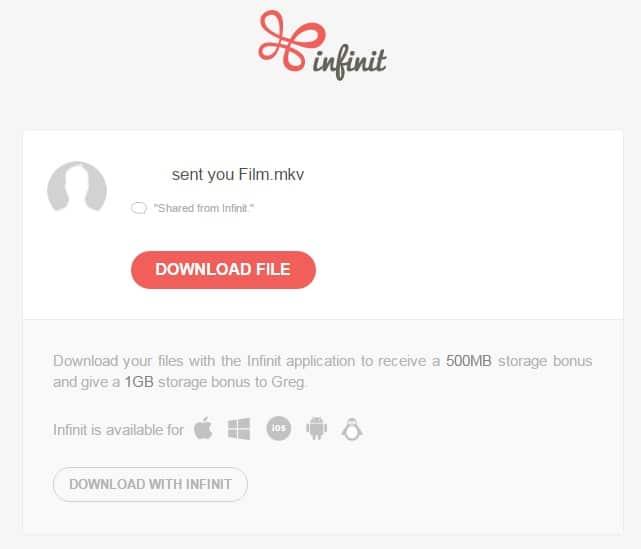 infinit-download