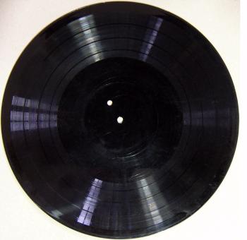 Le disque sur lequel était enregistré le morceau