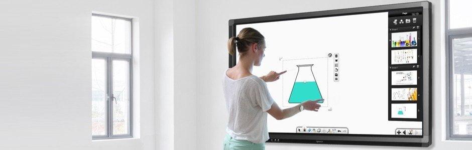 un écran interactif sous Android