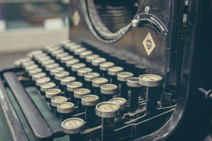 machine a ecrire overtype