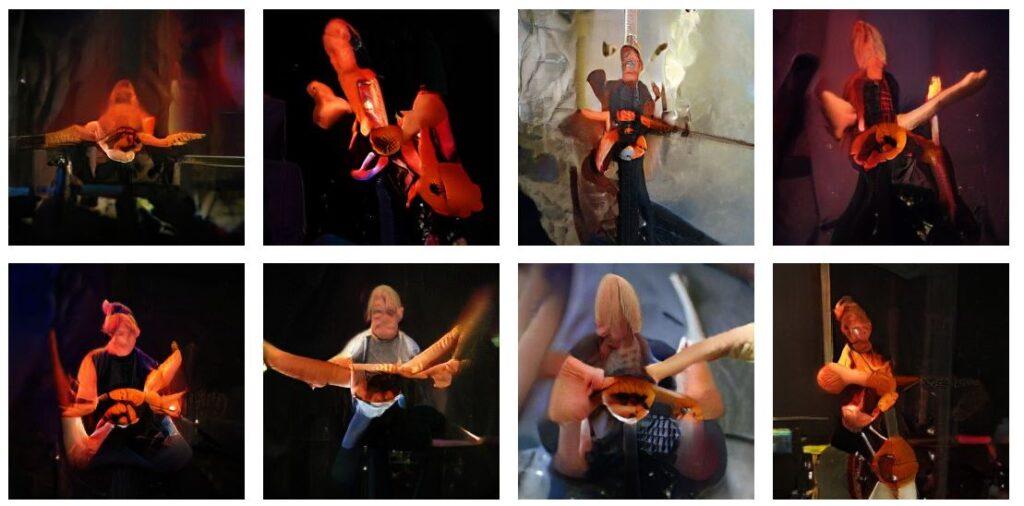 gandbreeder poisson rouge guitare