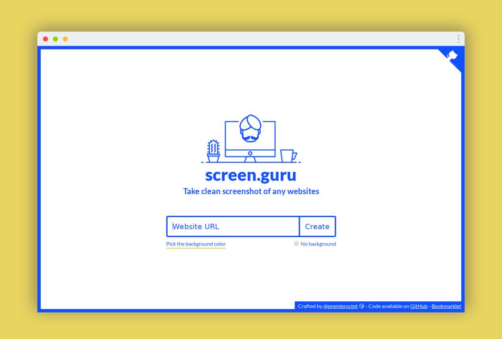 screen guru capture ecran