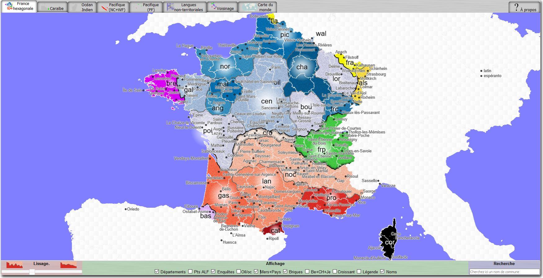 atlas sonore langues regionales france