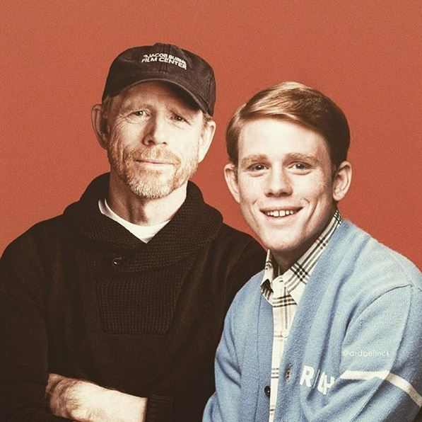 photo time traveling ron howard