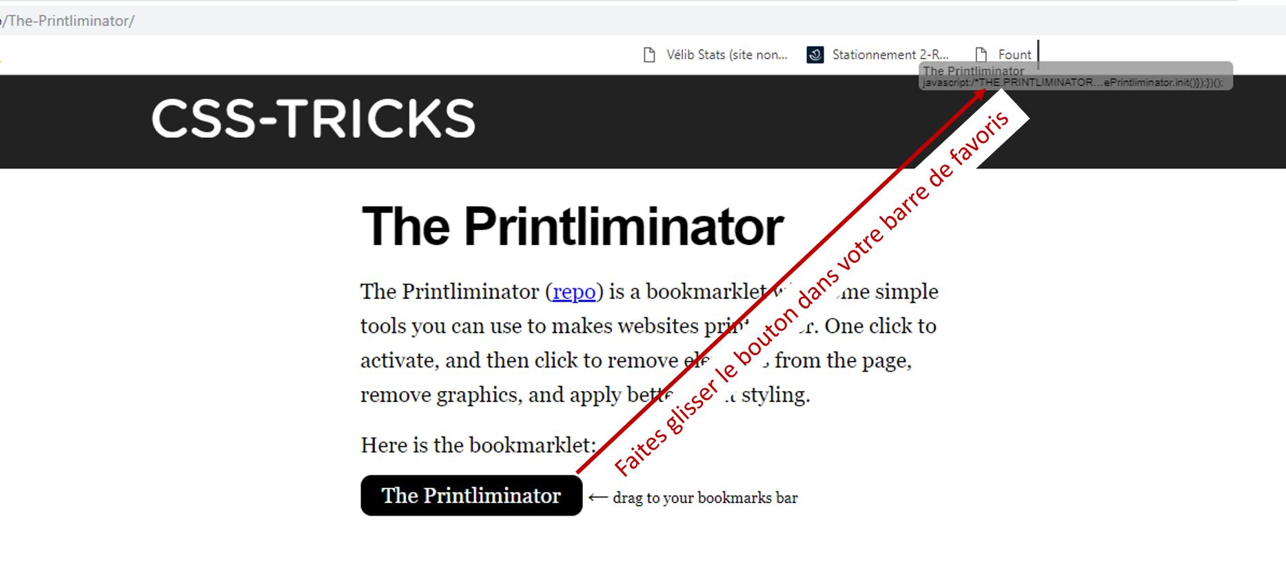 the printliminator signet