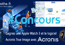 concours acronis true image apple watch