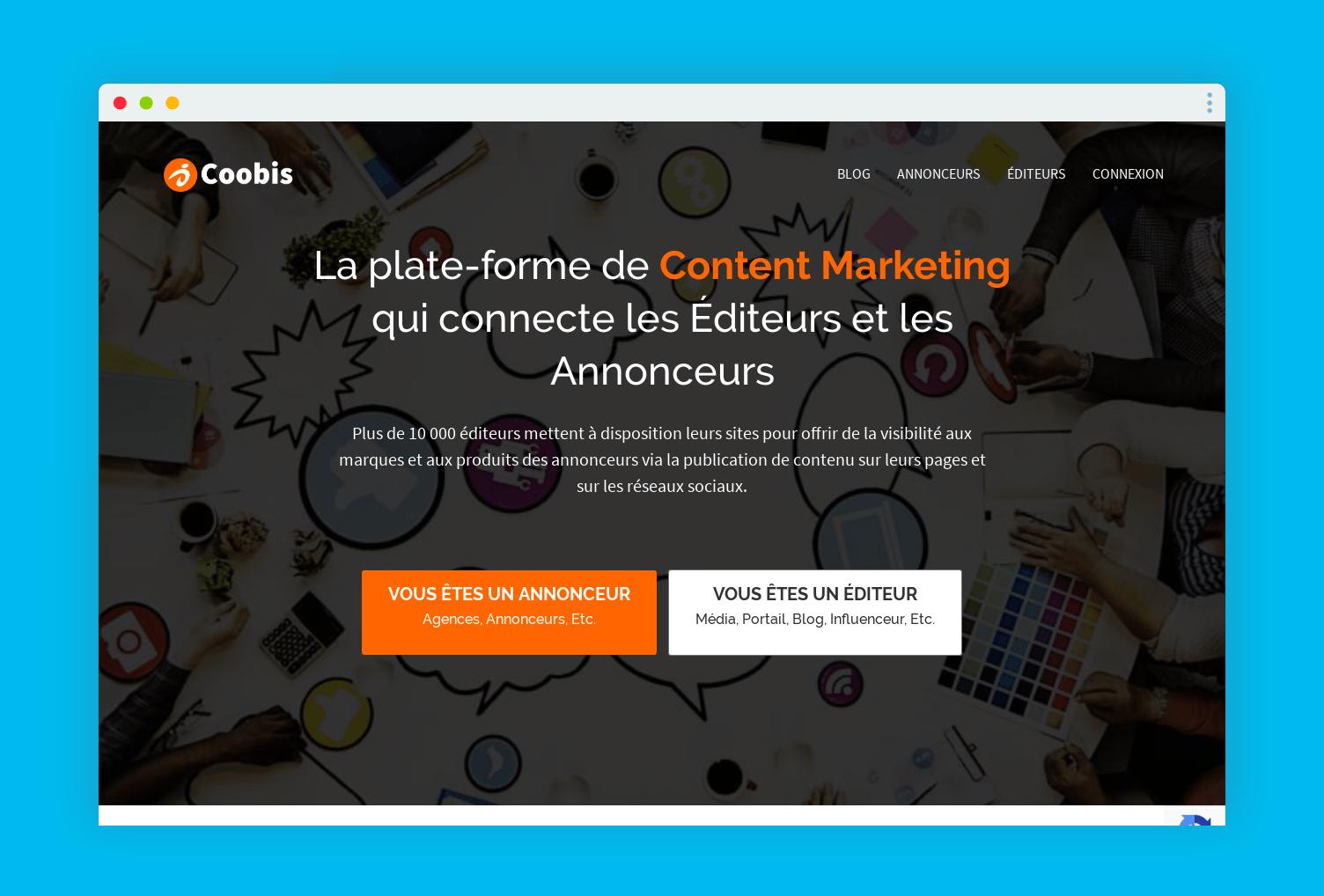 coobis page accueil