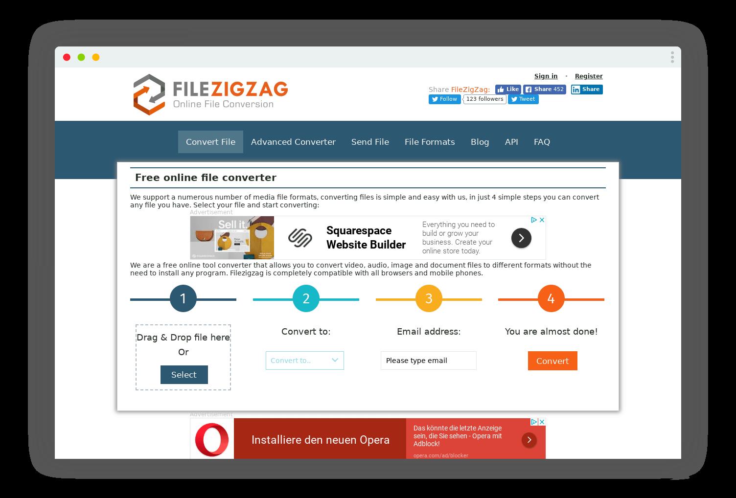 filezigzag conversion format
