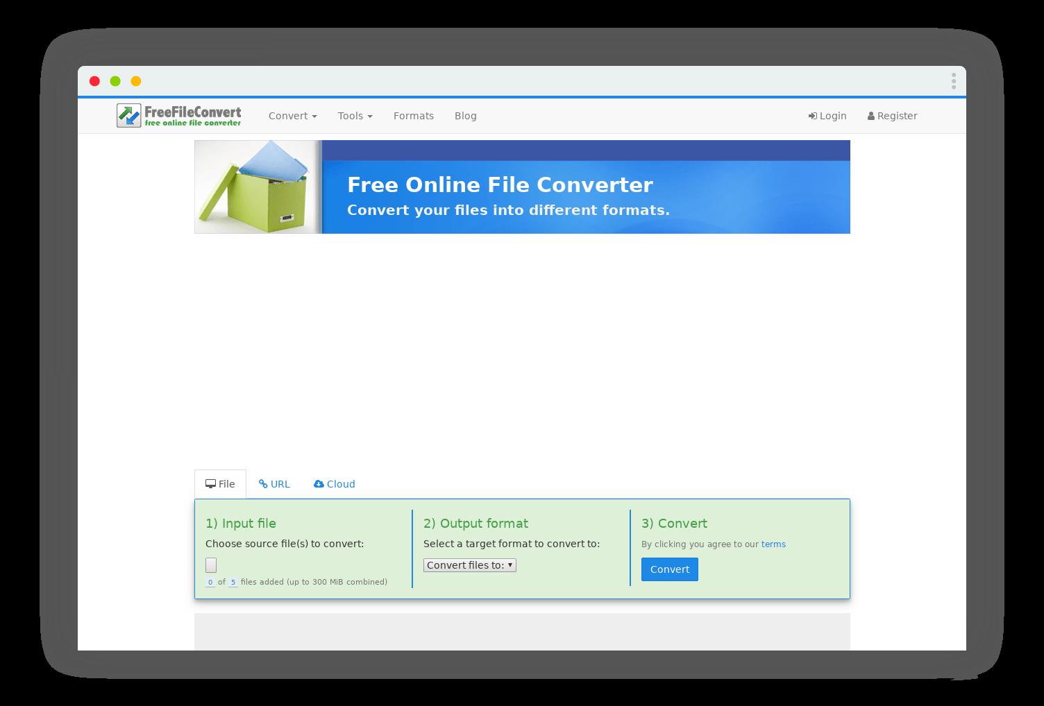 freefileconvert conversion format