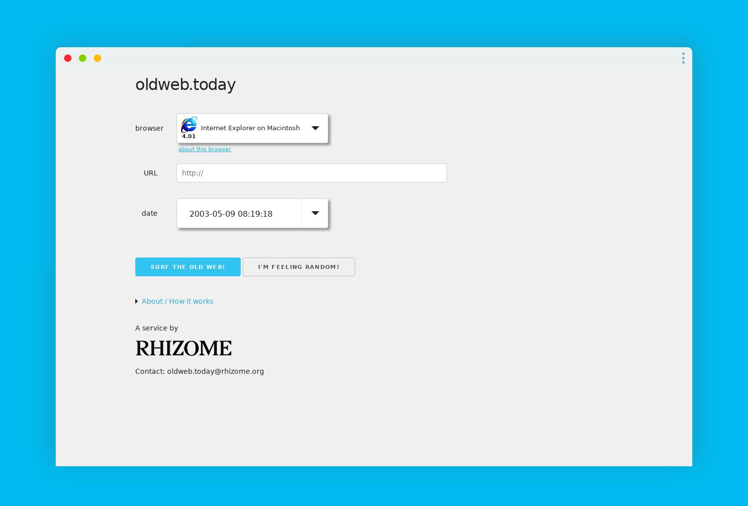 oldwebtoday archive web